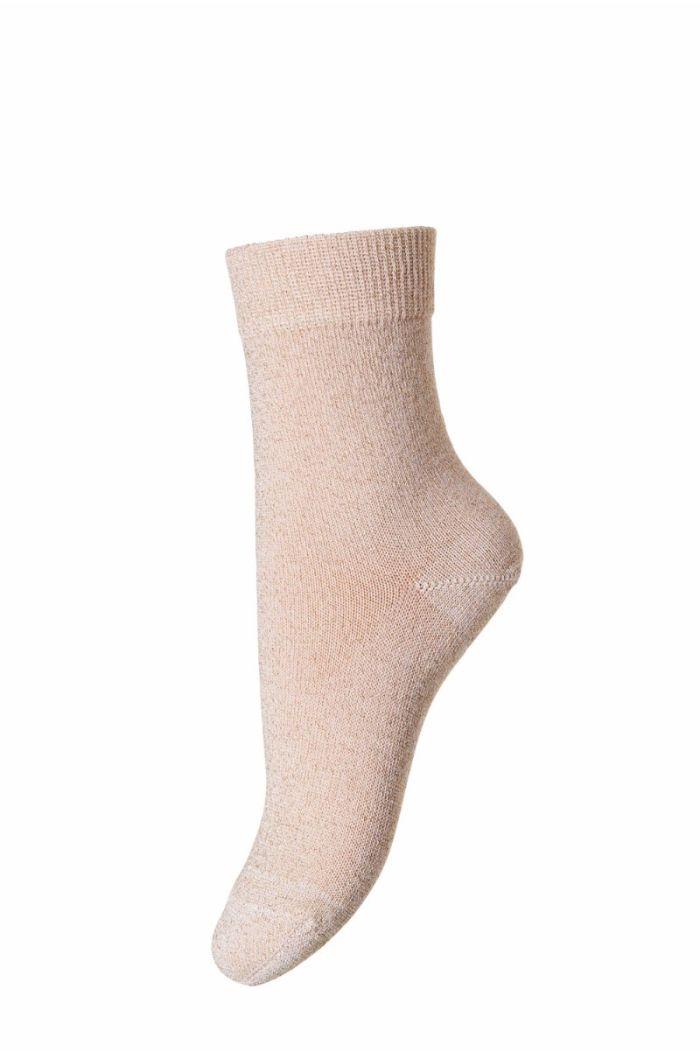 MP Denmark Socks Ankle Lulu Golden Glitter