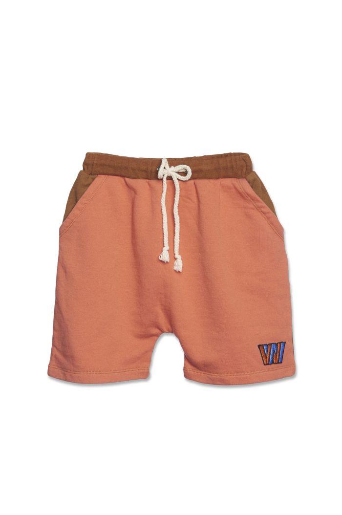 Wander &Wonder Aztec Shorts Copper_1