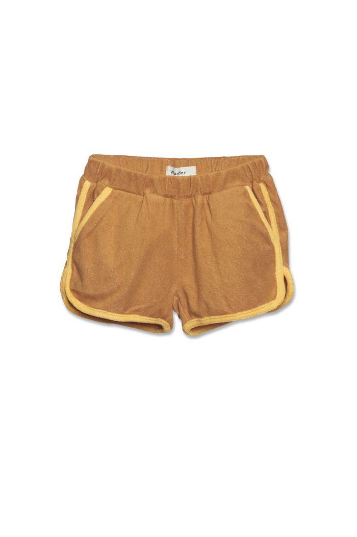 Wander &Wonder Gym Shorts Brown_1