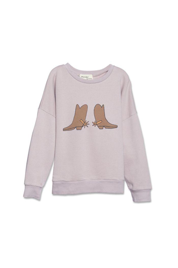 Wander &Wonder Summer Sweatshirt Mauve_1