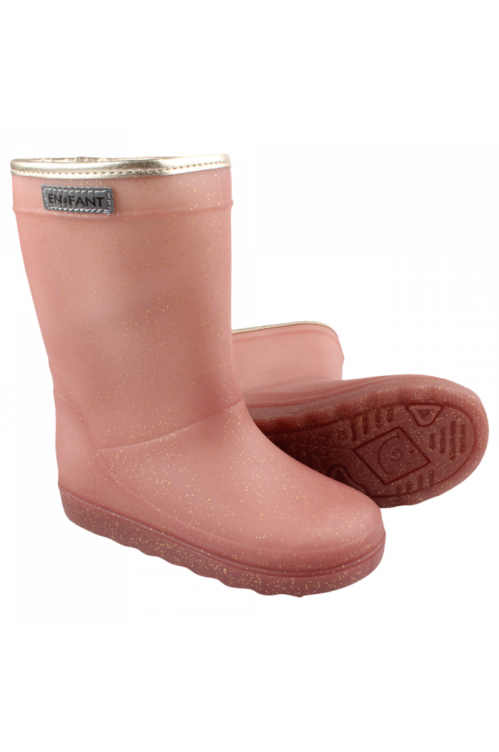 En Fant Thermo Boots Metallic Rose_1