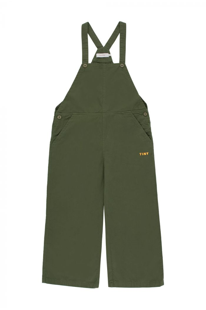 Tinycottons Tiny Jumpsuit olive dark green