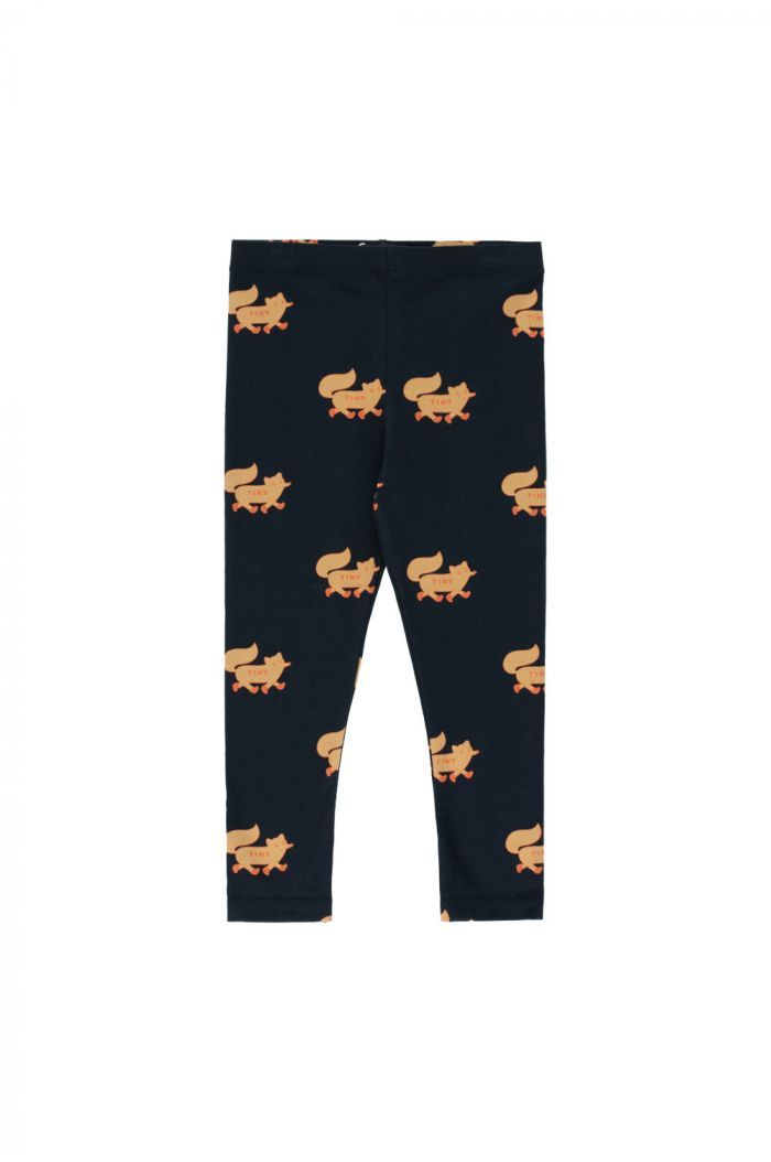 "Tinycottons ""Foxes"" Pant navy/camel_1"