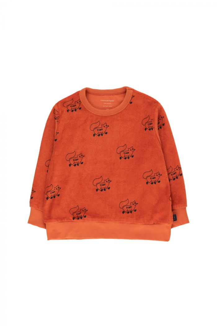 "Tinycottons ""Foxes"" Sweatshirt sienna/navy_1"
