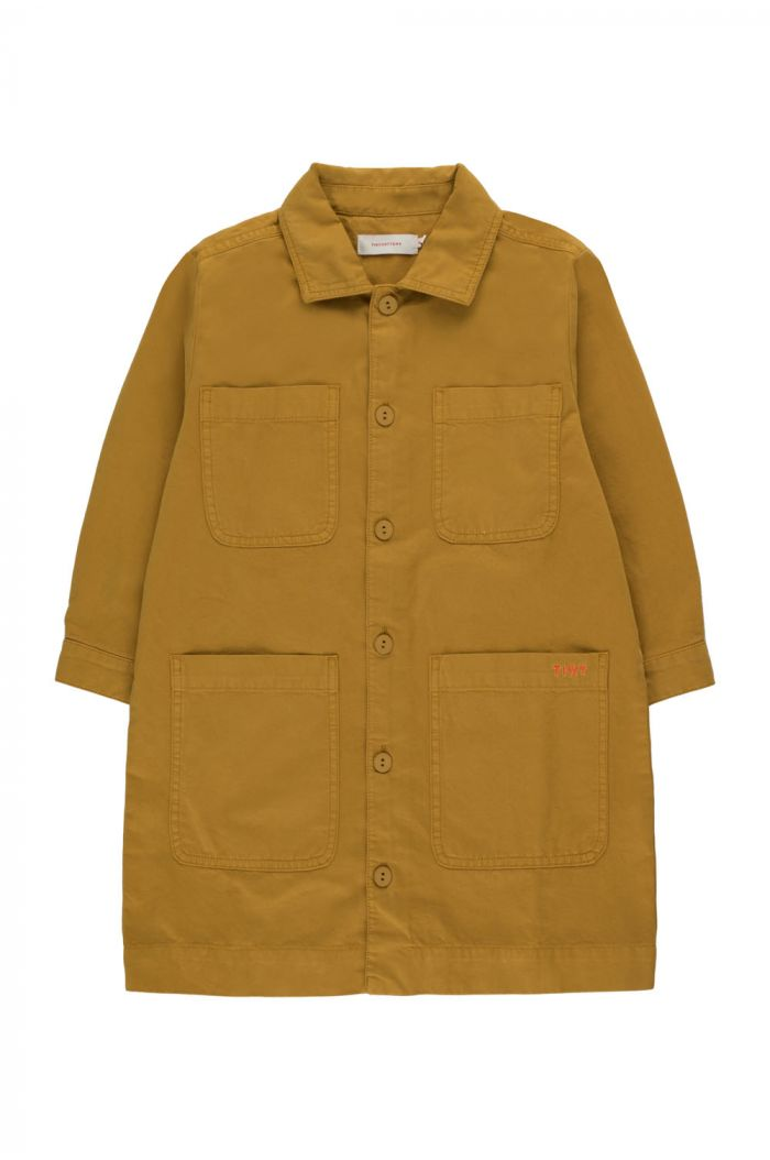 Tinycottons Solid Over-Shirt mustard_1