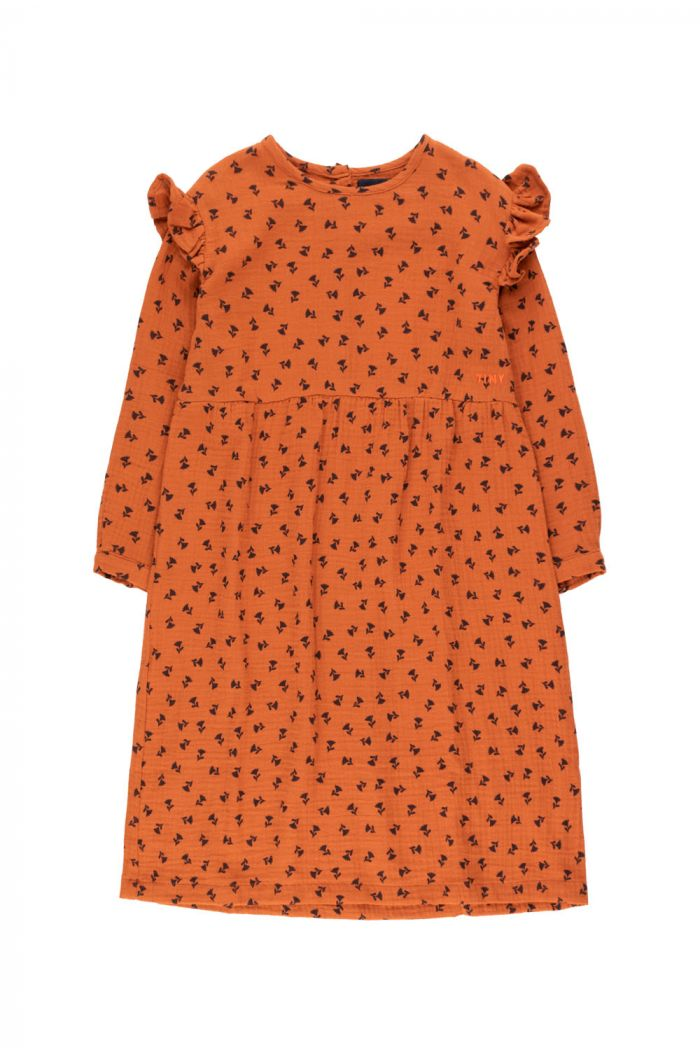 "Tinycottons ""Tiny Flowers"" Dress sienna/navy_1"