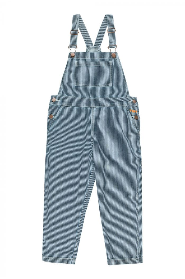 Tinycottons Stripes Denim Overall stripes denim_1