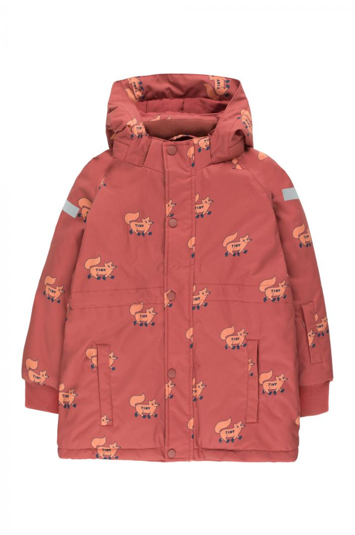 "Tinycottons ""Foxes"" Snow Jacket dark brown/sienna_1"