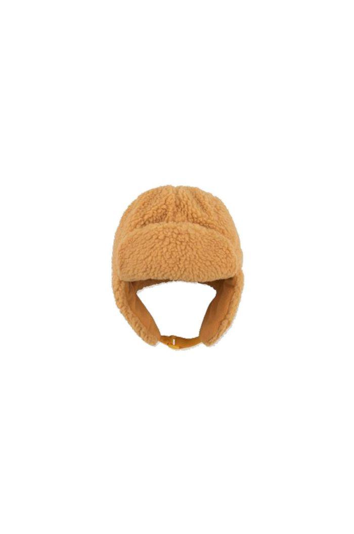 """Tinycottons """"Tiny Dog"""" Sherpa Chapka camel_1"""