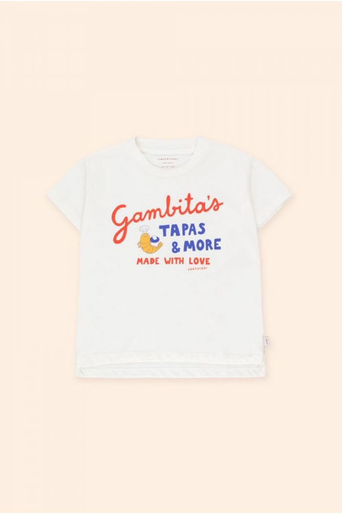 Tinycottons Gambita'S Graphic Tee off-white/red_1