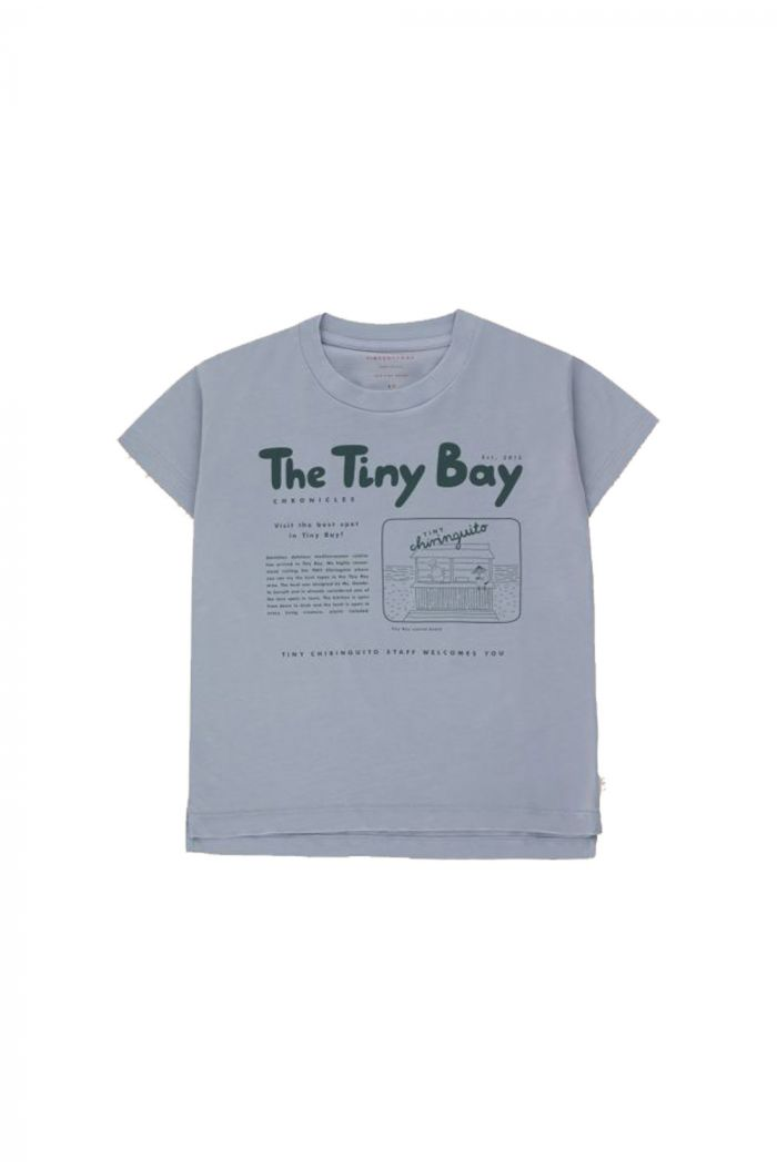 Tinycottons Tiny Bay Graphic Tee Summer Grey/Dark Teal_1