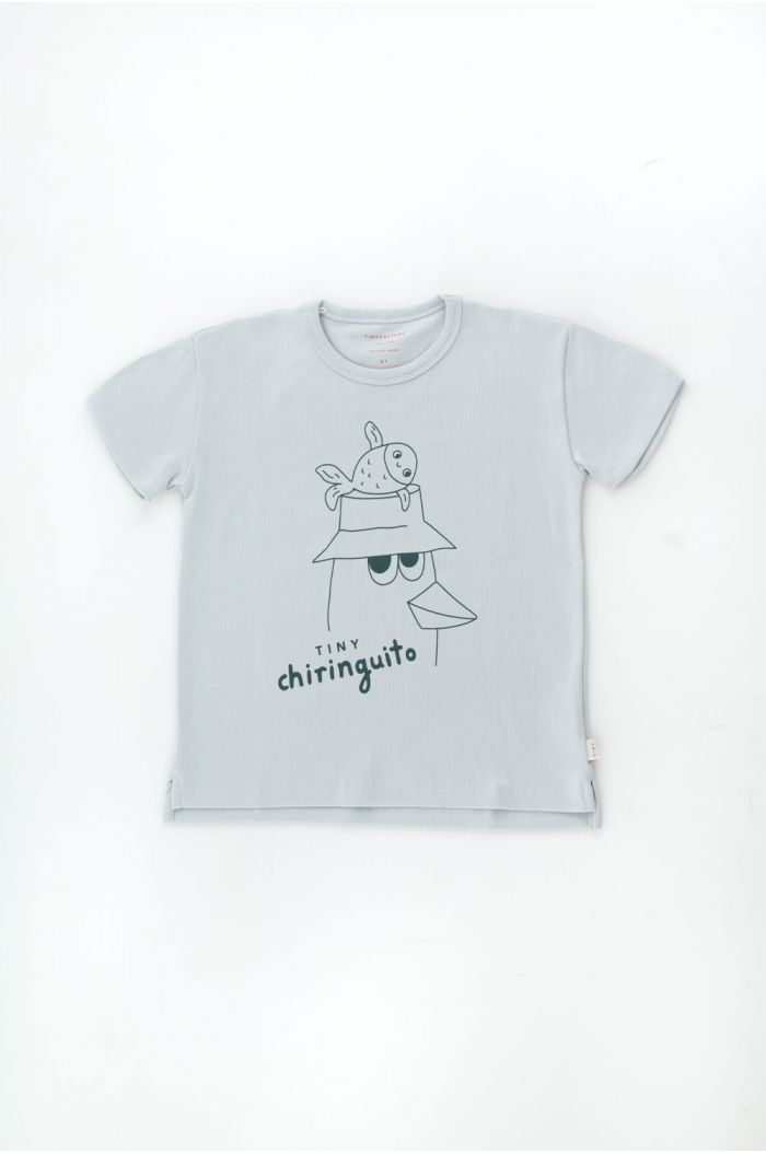 Tinycottons Friends Tee Pale Grey/Ink Blue_1