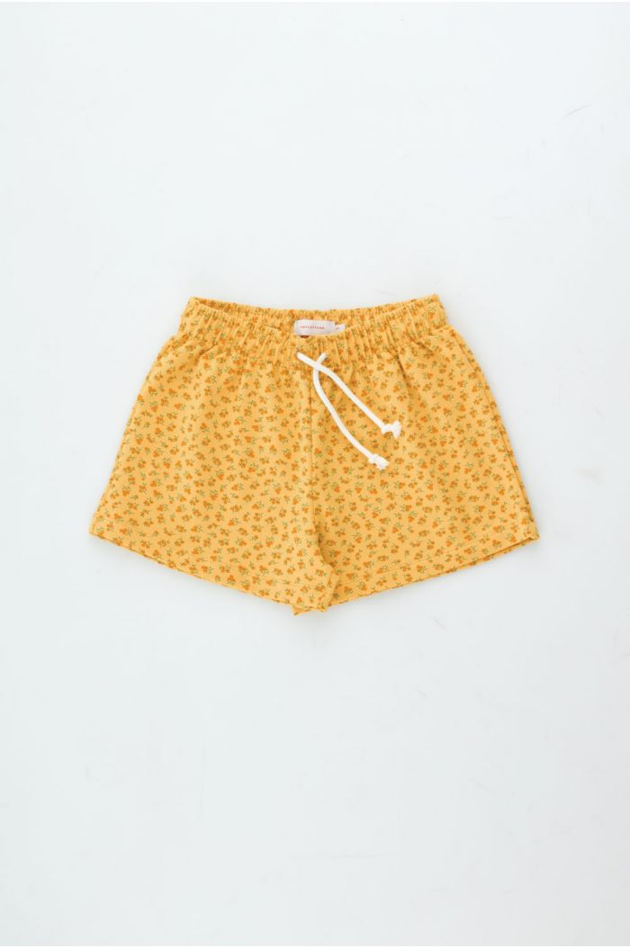 Tinycottons Small Flowers Short Yellow/Honey_1
