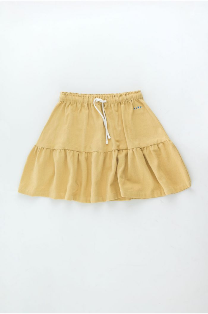 Tinycottons Solid Short Skirt Sand_1