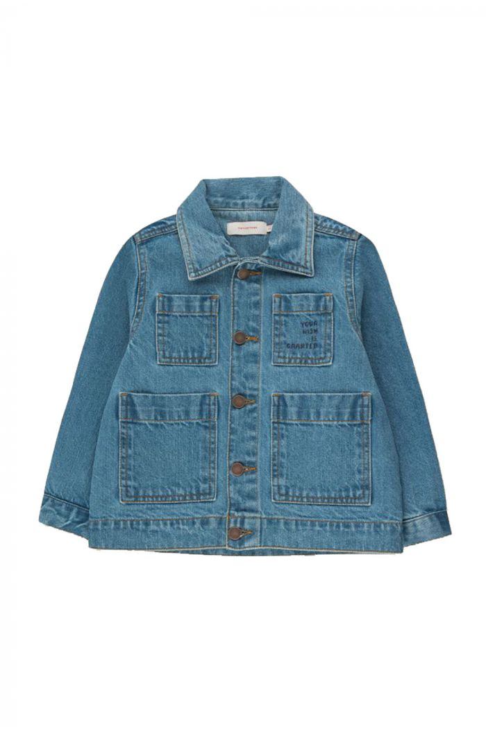 Tinycottons Wishing Table Denim Jacket light denim_1