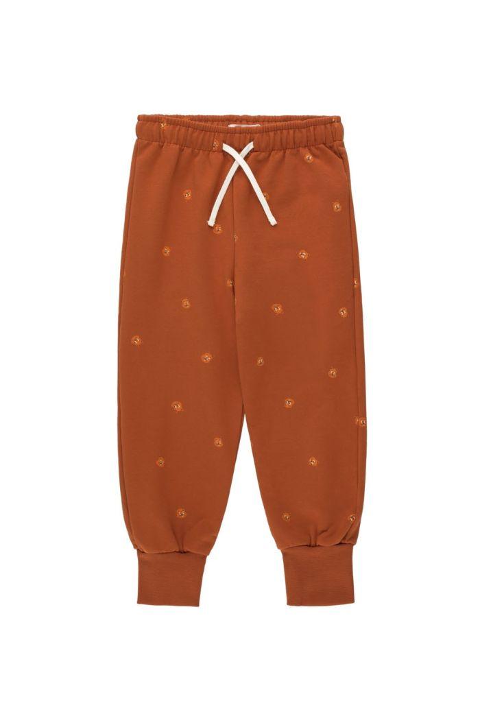 Tinycottons Squirrels Sweatpant Dark Copper/True Brown_1
