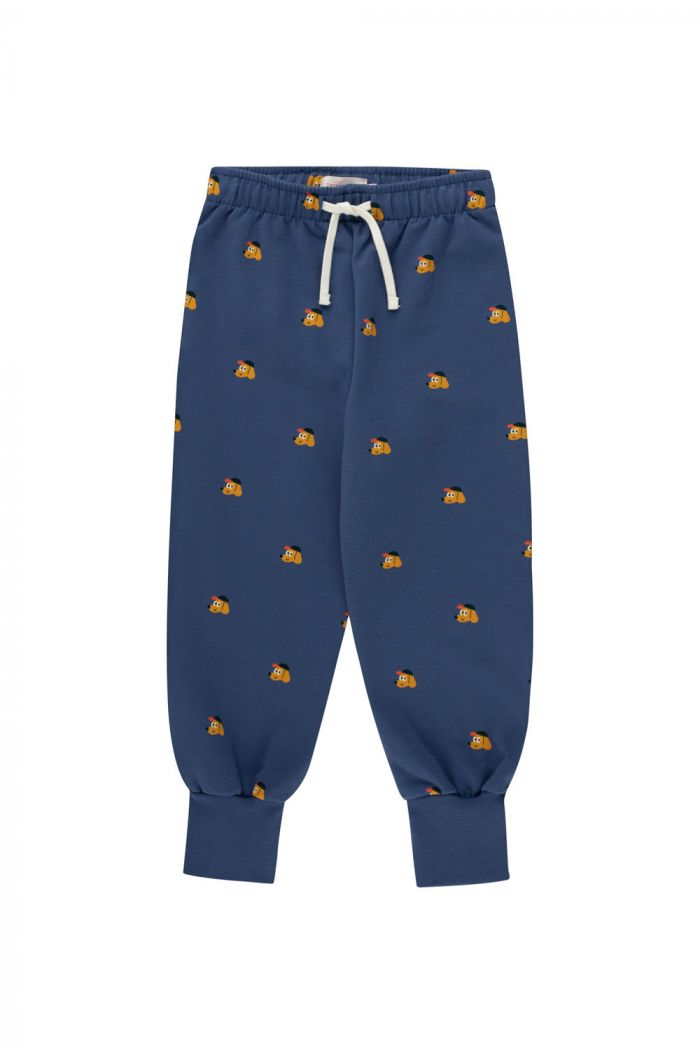 Tinycottons Dogs Sweatpant Soft Blue/Honey_1