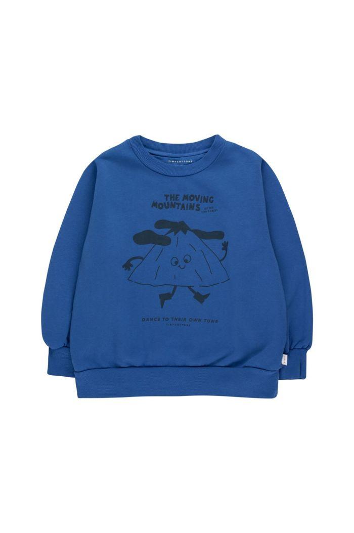 Tinycottons Moving Mountains Sweatshirt Ultramarine/Deep Blue_1