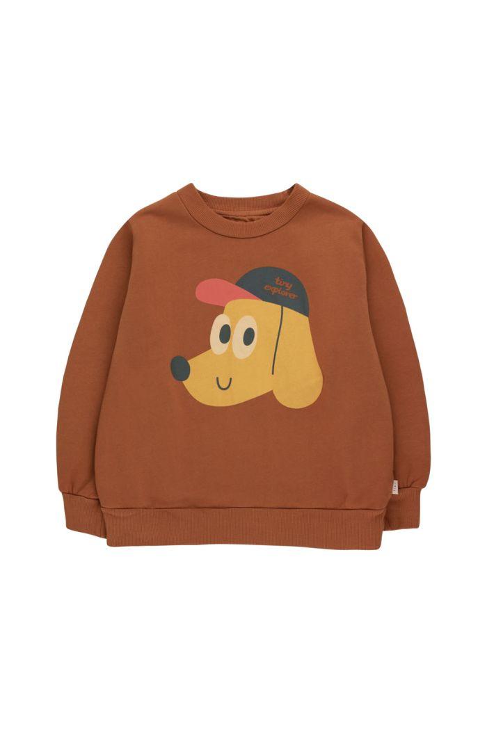 Tinycottons Tiny Explorer Sweatshirt Dark Copper/Honey_1