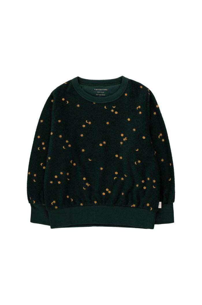 Tinycottons Sky Sweatshirt Ink Blue/Honey_1