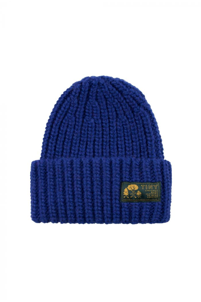 Tinycottons Solid Beanie ultramarine_1