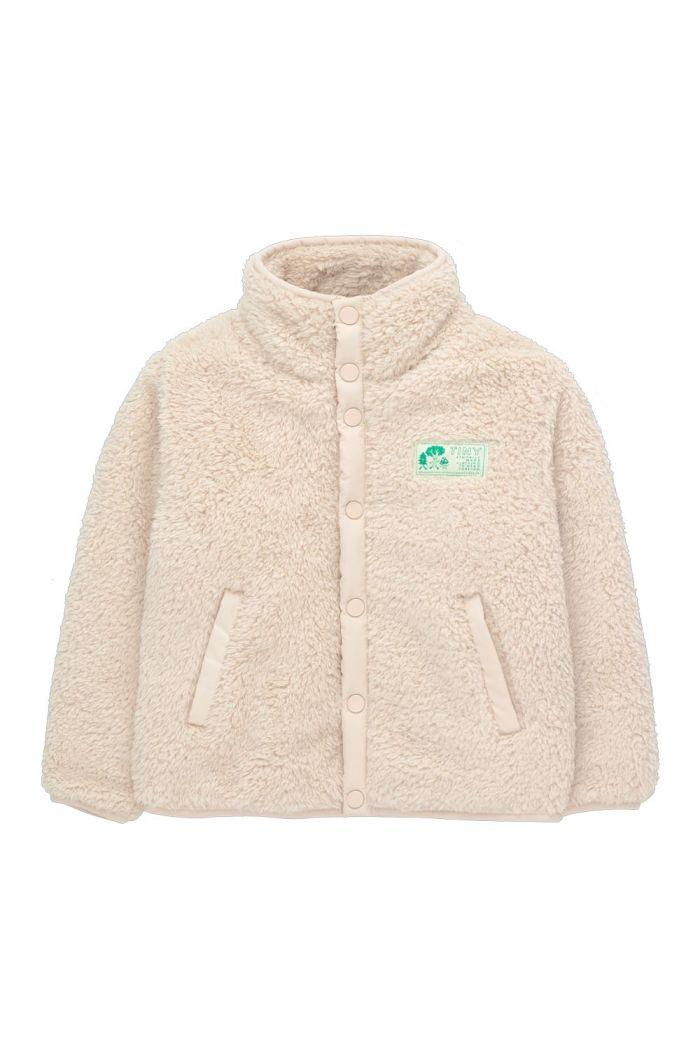 Tinycottons Polar Sherpa Jacket Light Cream_1