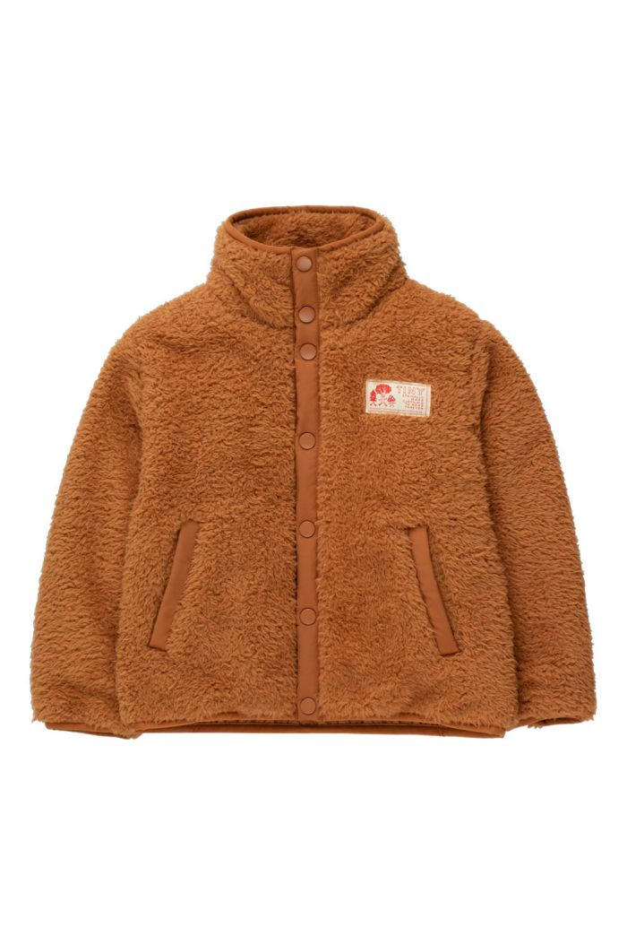 Tinycottons Polar Sherpa Jacket Toffee_1