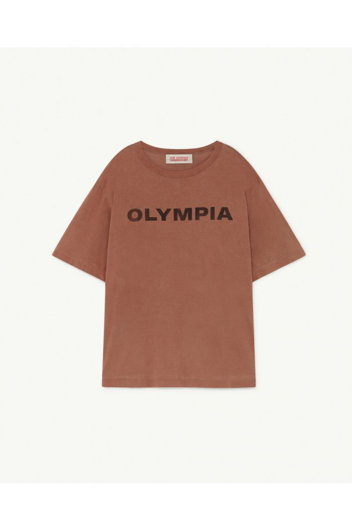 The Animals Observatory Rooster Oversize T-Shirt Brown Olympia_1
