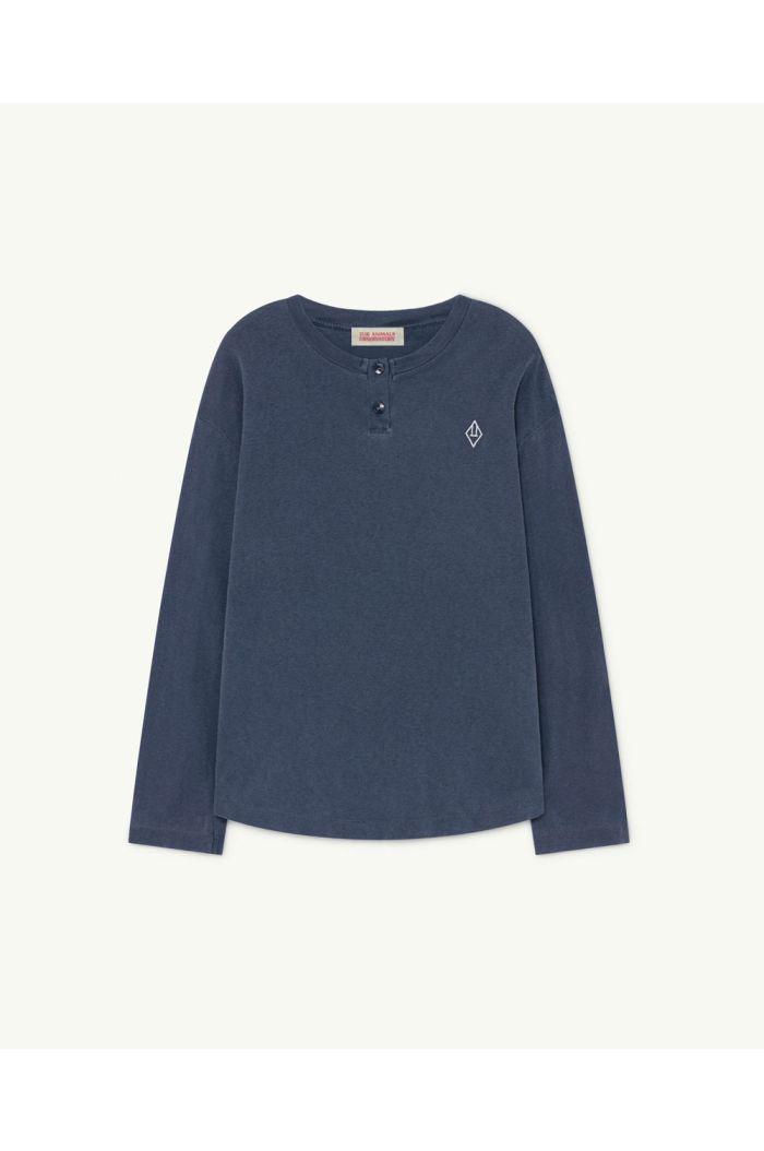 The Animals Observatory Whistler Kids T-Shirt Deep Blue Logo_1