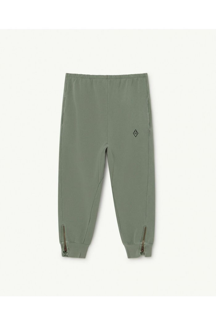 The Animals Observatory Panther Kids Trousers Soft Green Logo_1