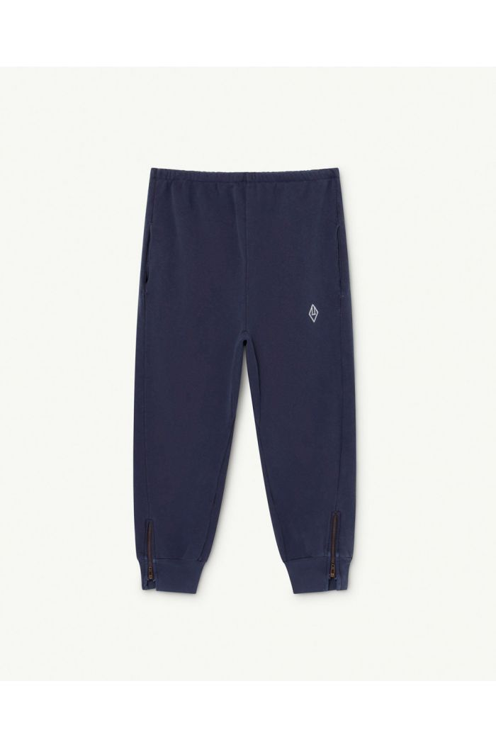 The Animals Observatory Panther Kids Trousers Deep Blue Logo_1