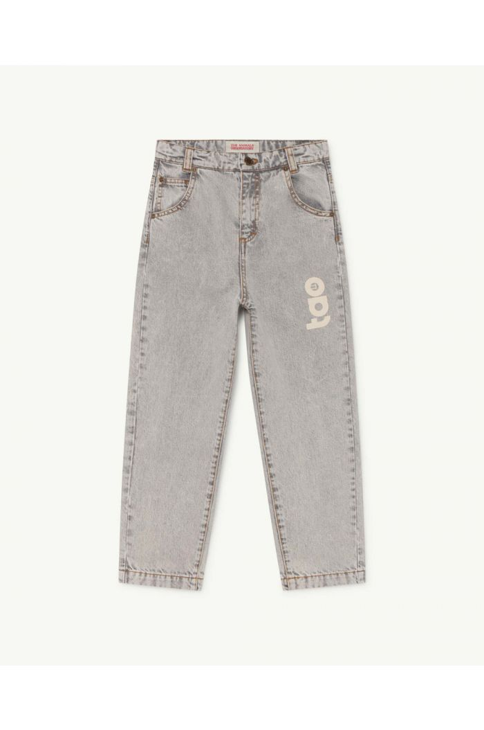 The Animals Observatory Ant Kids Trousers Grey TAO_1