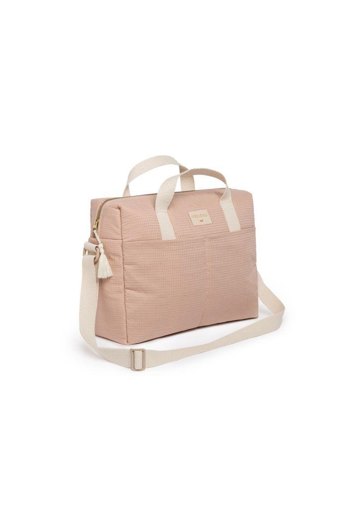 Nobodinoz Gala Waterproof Changing Bag Misty Pink