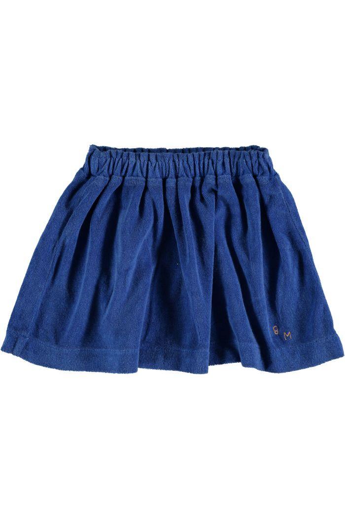 mini skirt terry bm fresh blue