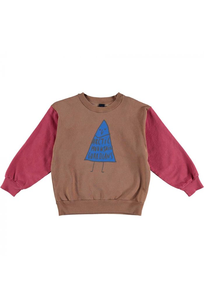 Bonmot Sweatshirt arctic guardian  Wood_1