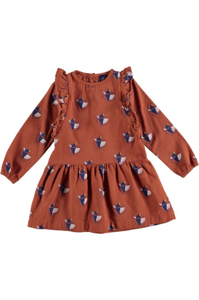 Bonmot Dress frilles world lovers Rust_1