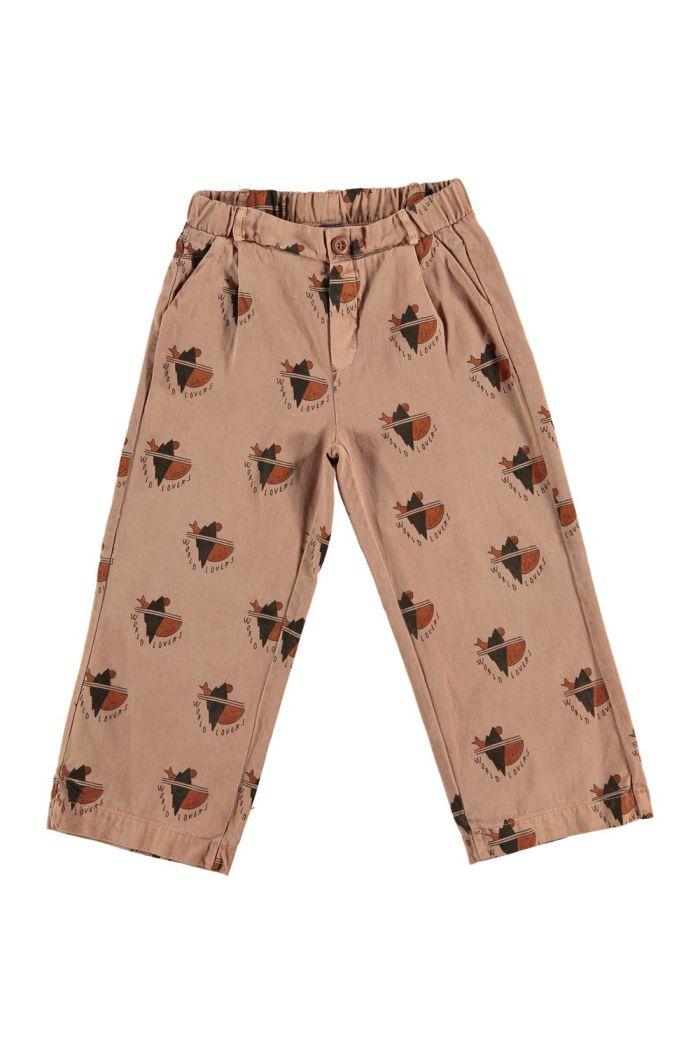 Bonmot Trousers all over world lovers Wood_1