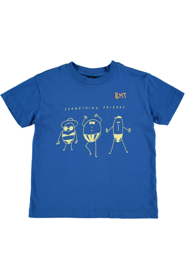 Bonmot T-shirt sunbathing fresh blue_1