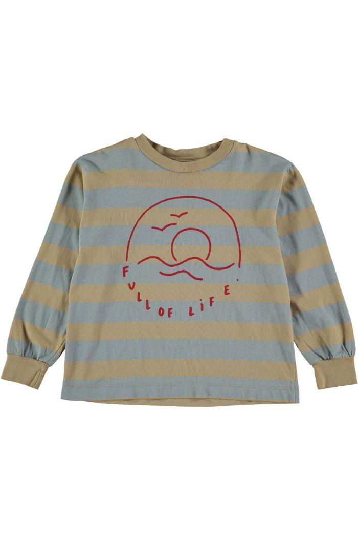 Bonmot Long sleeve t-shirt live Beige_1