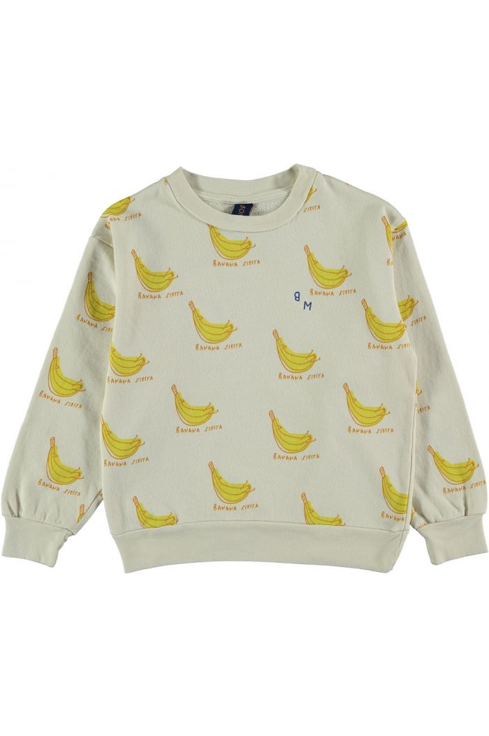Bonmot Sweatshirt banana siesta ivory_1