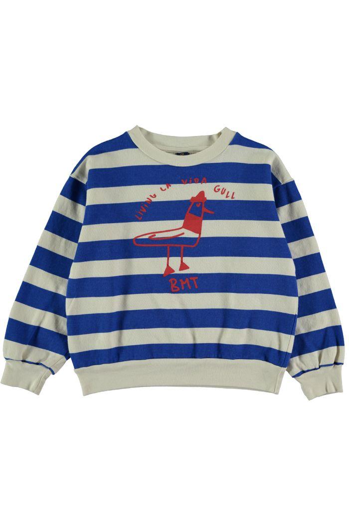 Bonmot Sweatshirt living la vida fresh blue_1