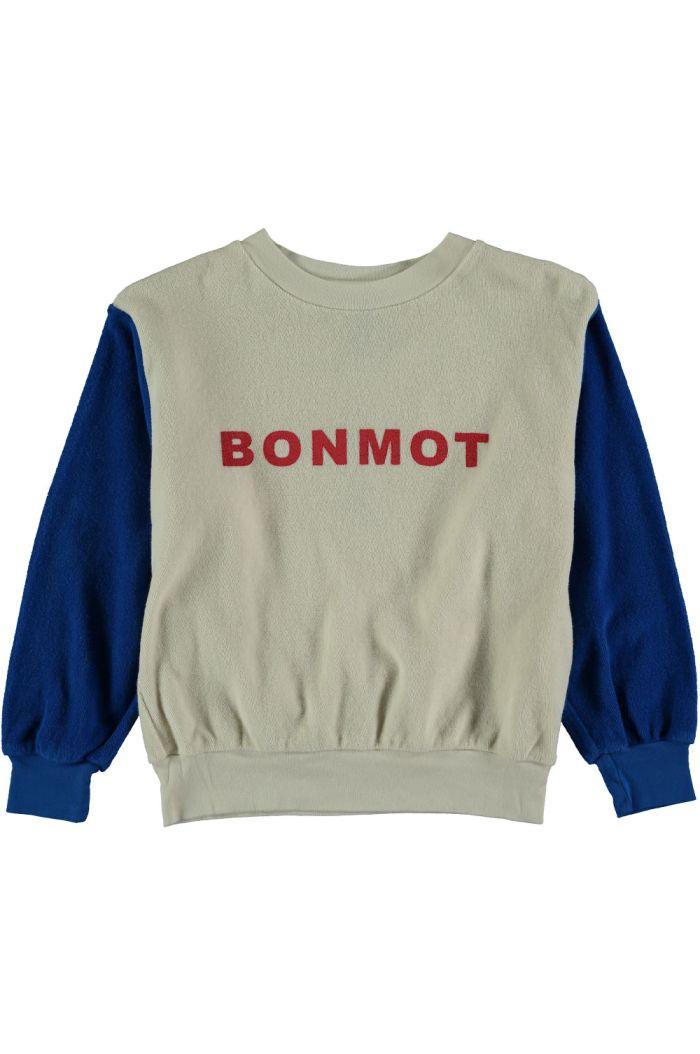 Bonmot Sweatshirt terry Bonmot ivory_1