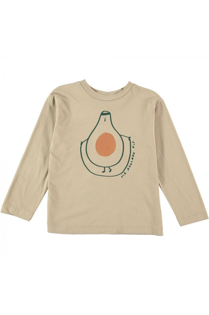Bonmot T-shirt Mr. Avocado  Fog_1