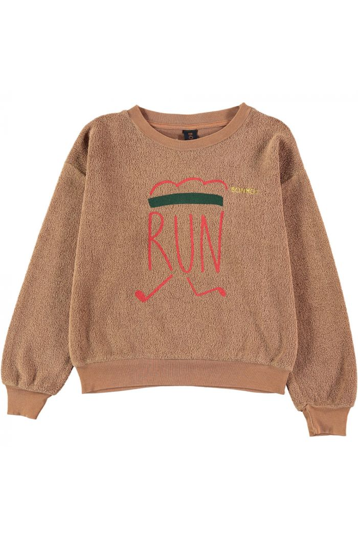 Bonmot Sweatshirt runner Wood_1