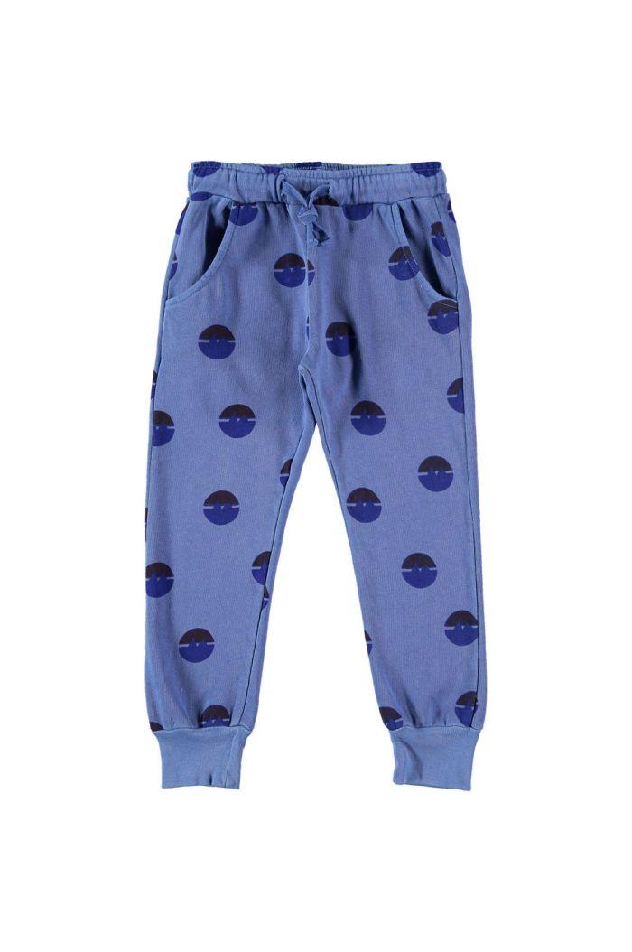 Bonmot Fleece trouser mountains light blue_1