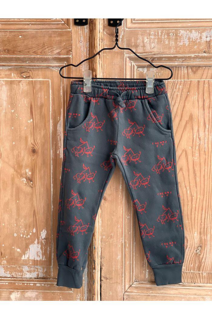 Bonmot Fleece trousers fit cherry Good night_1