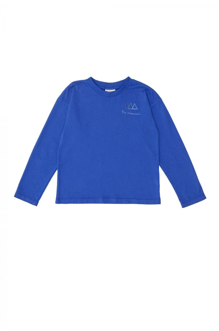 The Campamento Logo T-Shirt Blue_1