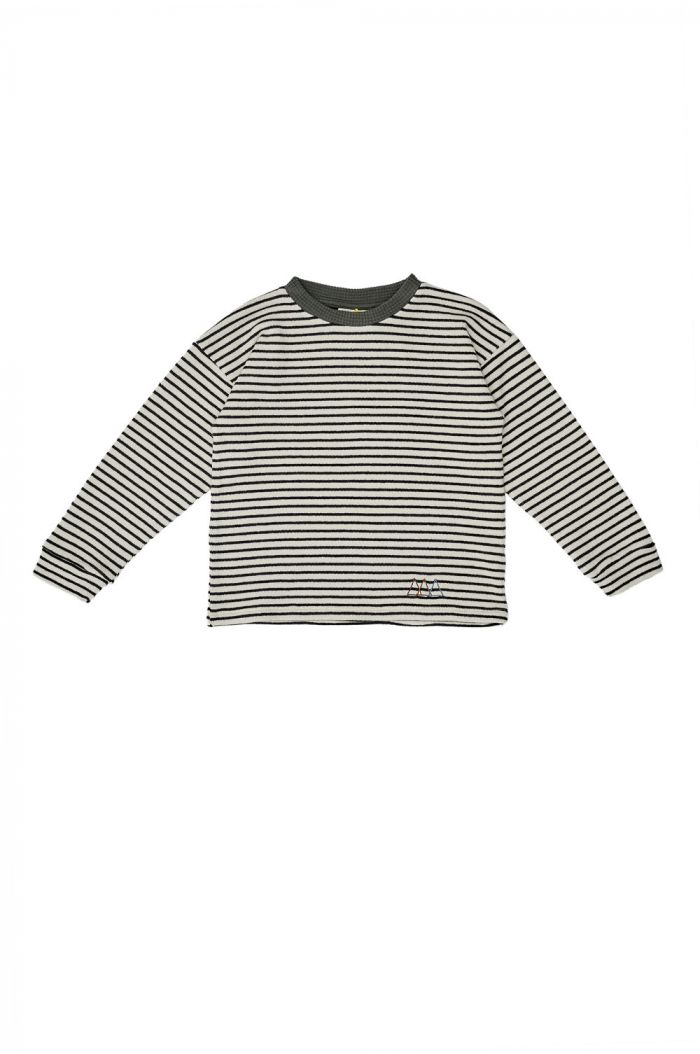 The Campamento Striped T-Shirt White_1