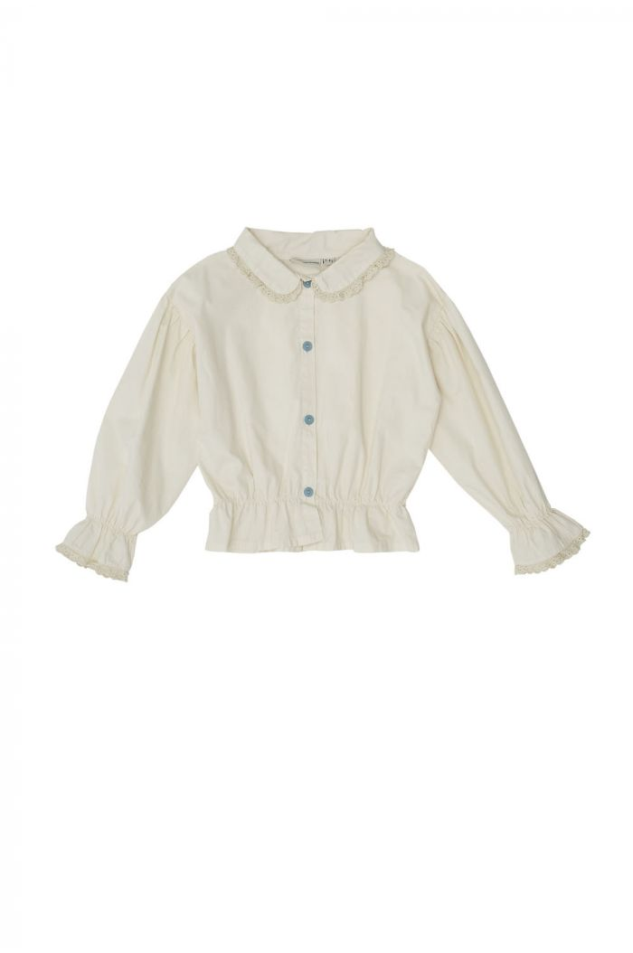 The Campamento Romantic Blouse White_1