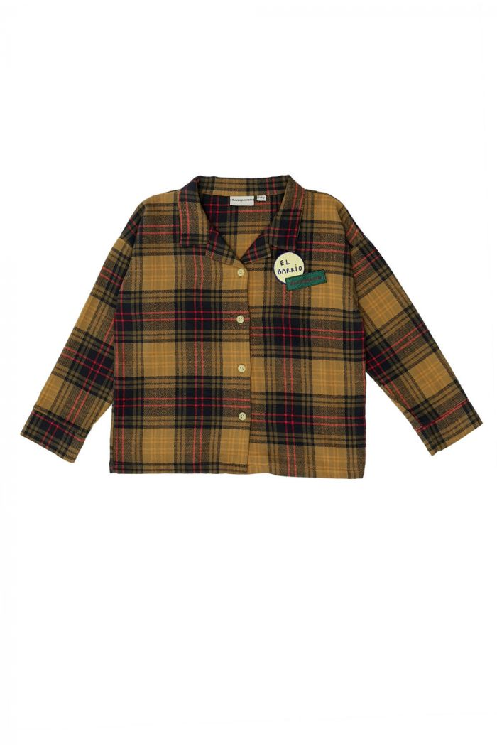 The Campamento Checked Shirt Yellow_1